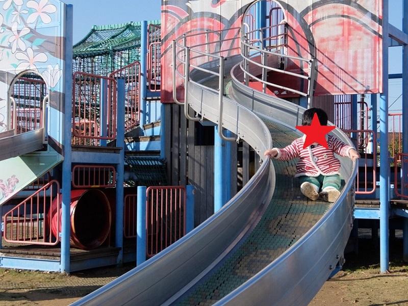 グリーンパーク大門の滑り台